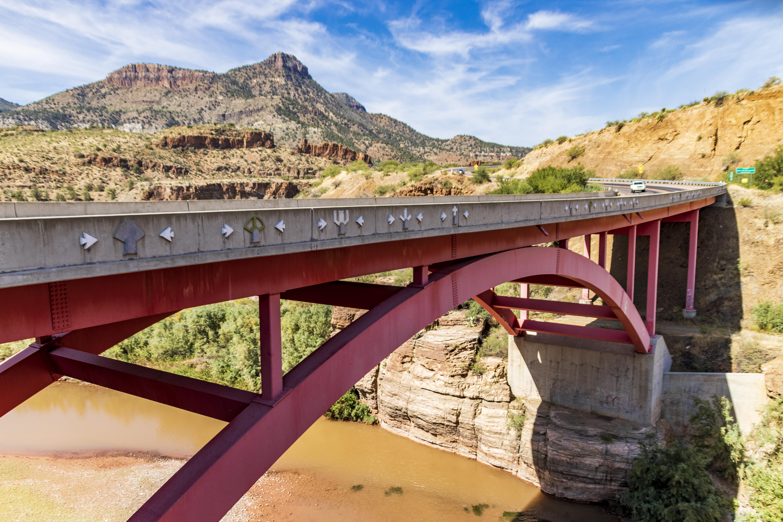 US 60 Salt River Canyon Bridge