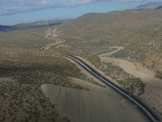 View of US 93