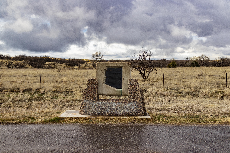 SR 82 Camp Crittenden Marker