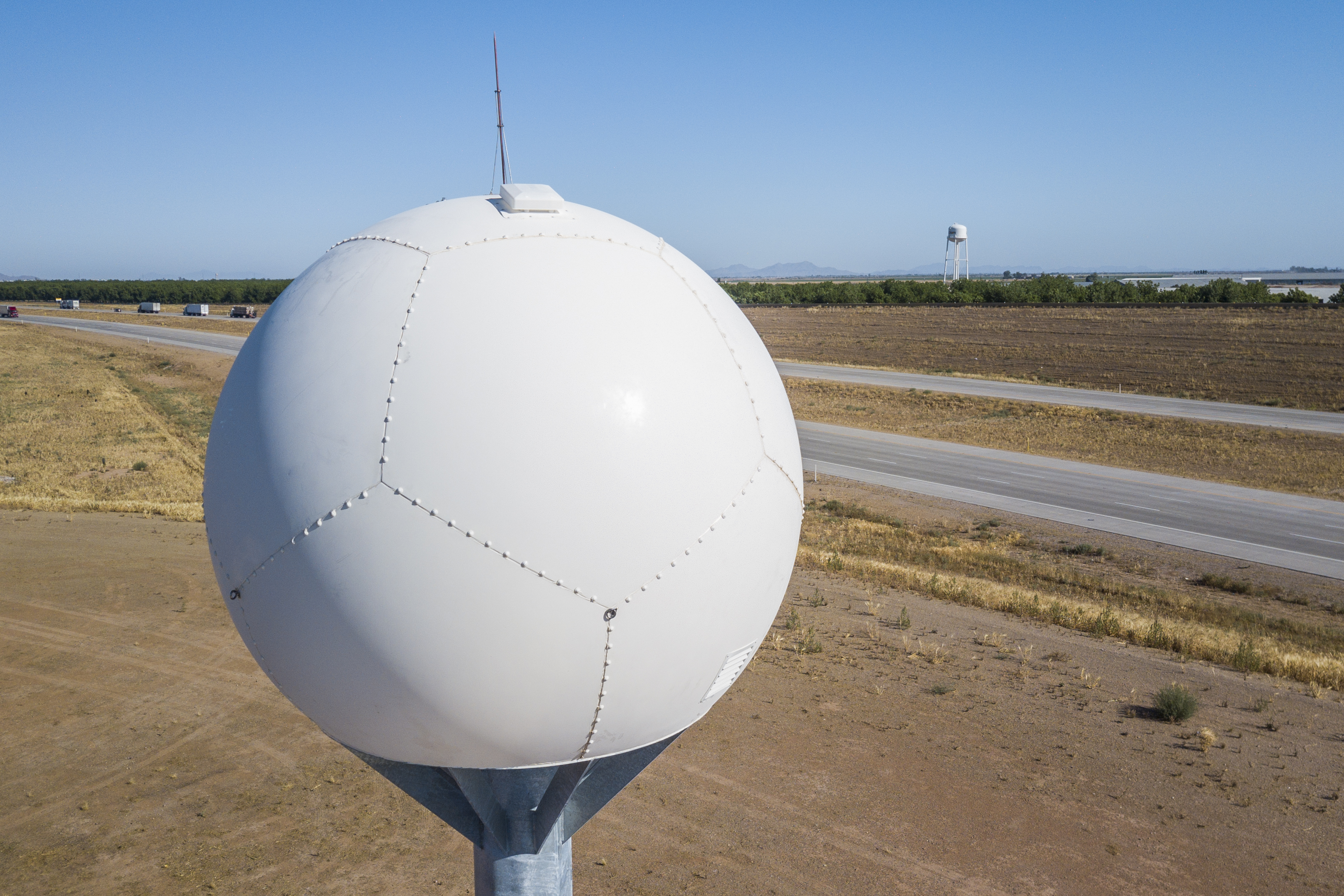 X-band Radar 3 Long Range Dust Detection Sensor