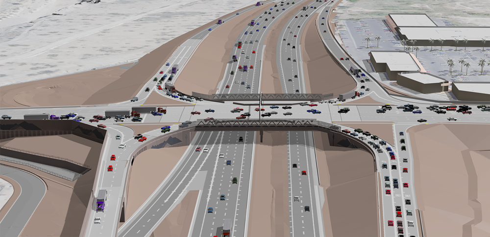 Ajo Way Interchange Rendering