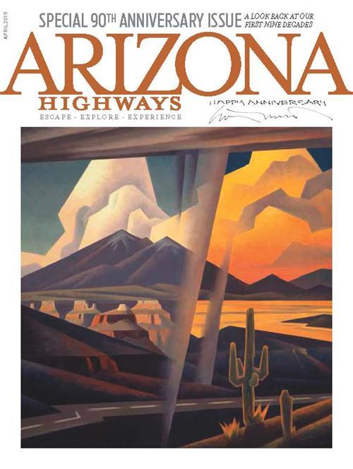 Arizona Highways Magazine Cover - April 2015 Issue