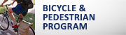 Bicycle and Pedestrian Program (button)