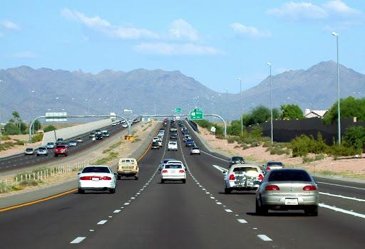 Cars on US 60