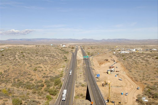 Construction on Cordes Junction Interchange