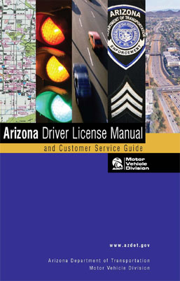 Arizona Driver License Manual cover