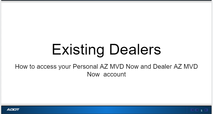 Existing Dealers