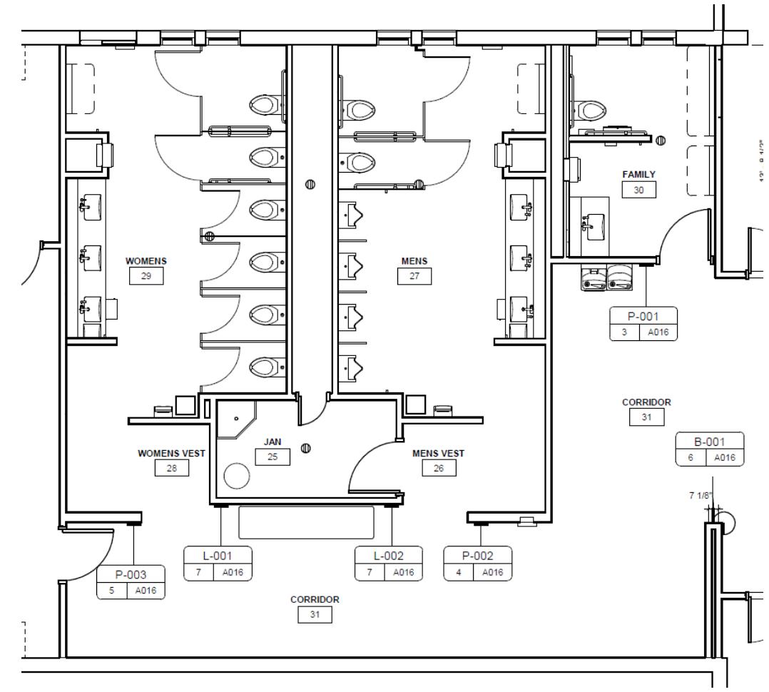 Terminal Restroom Remodel