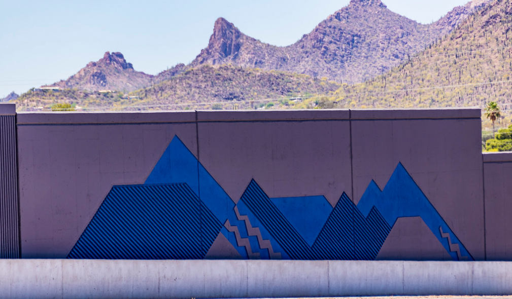 I-19 and Ajo Way bridge art