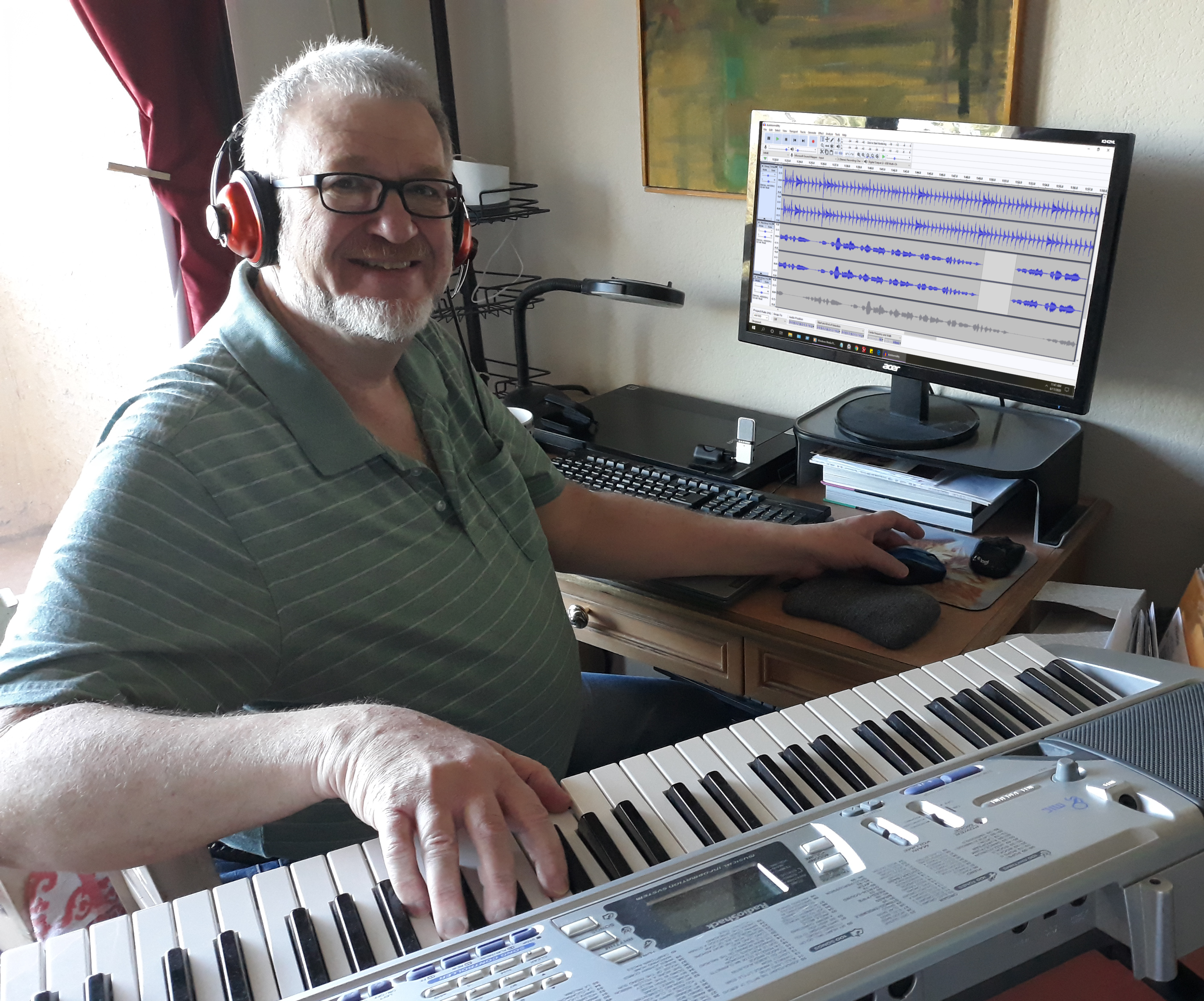 John Walradt mixing
