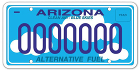 Alternative Fuel Specialty Plate