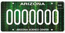Arizona Science Center License Plate