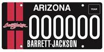 Barrett-Jackson License Plate