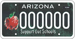Extraordinary Educators License Plate