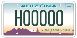 Hearing Impaired Plate License Plate