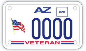 Veteran Motorcycle Specialty Plate