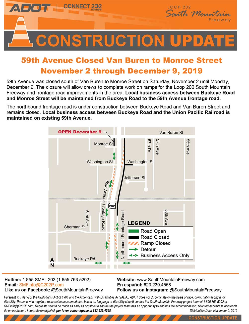 59th Avenue Van Buren to Monroe Street Revised