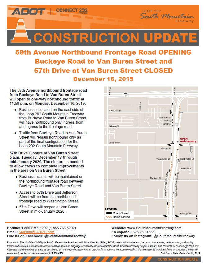 Construction Update, Dec 16