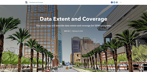Data Extent and Coverage Storymap Screenshot