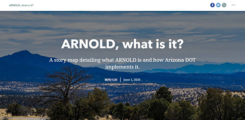 ARNOLD Story Map