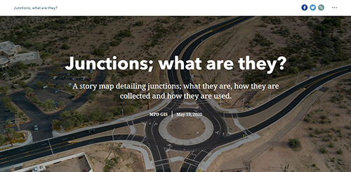 Junctions Story Map