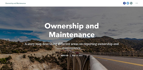 Ownership and Maintenance Story Map