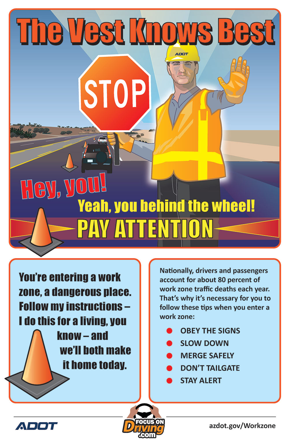 Work Zone Safety - The Vest Knows Best