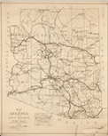 Arizona State Hwys & Roads 1920