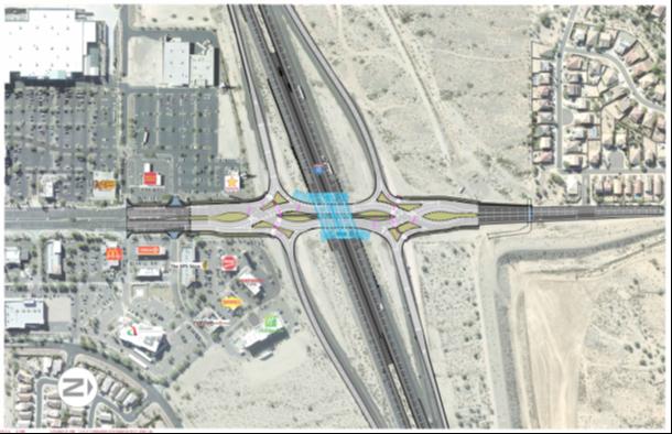 Watson Road Traffice Interchange Map