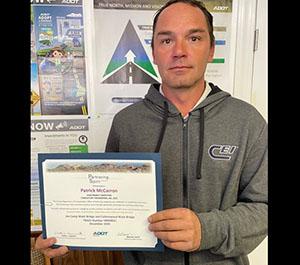 Spirit Award Recipient Patrick McCarron