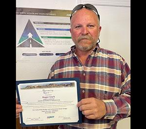 Spirit Award Recipient Roger Clark