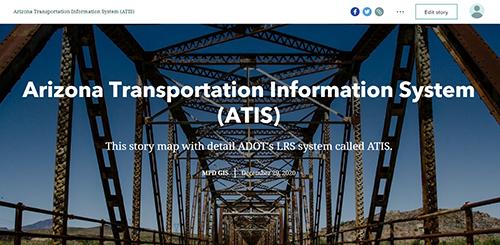 ATIS Story Map Thumbnail
