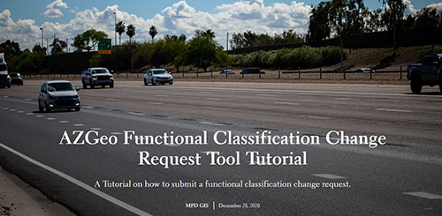 AZGeo Functional Classification Change Request Tool Tutorial thumbnail