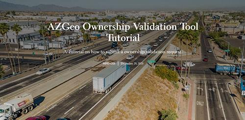 AZGeo Ownership Validation Tool Tutorial thumbnail