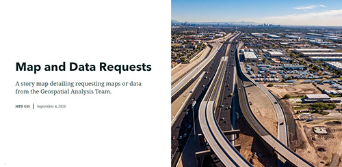 Map and data Requests