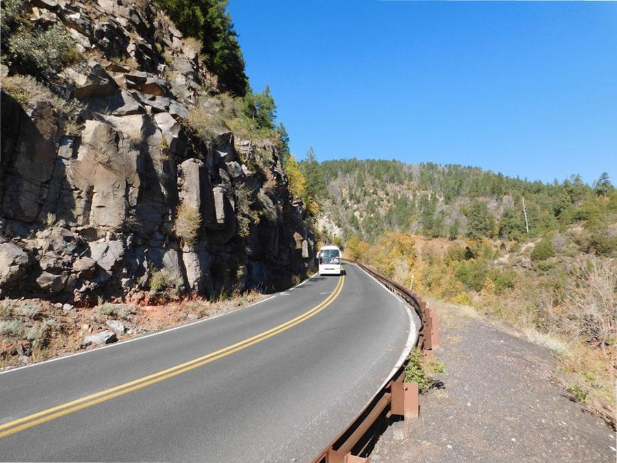 SR 89A Oak Creek Rockfall 1