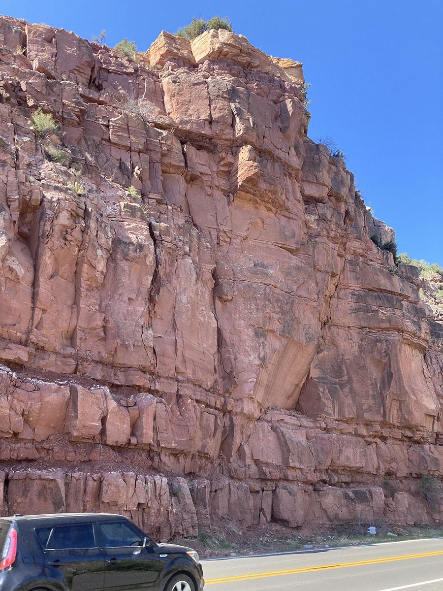 SR 89A Oak Creek Rockfall 2