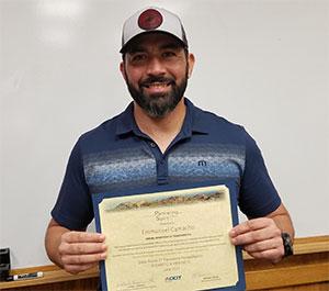 Spirit Award Manny Camacho