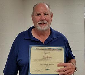 Spirit Award Recipient Mark Ziegler