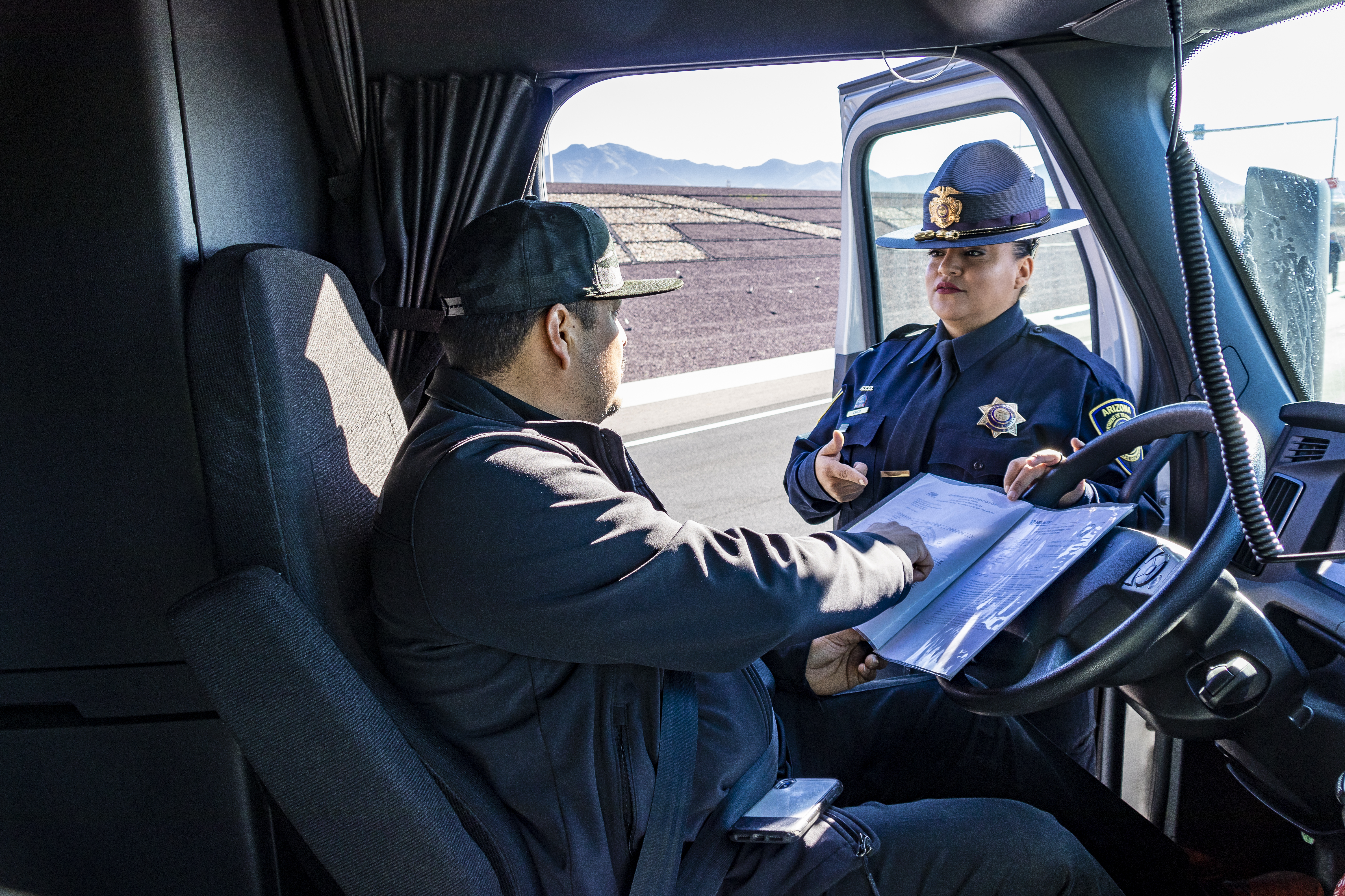 ECD Officer and Driver