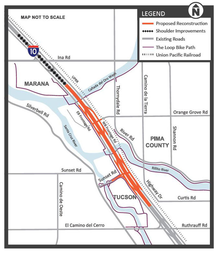 I-10 Reconstruction between Ruthrauff and Ina Roads
