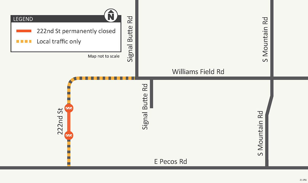 Ellsworth Rd to Ironwood Dr Construction Map