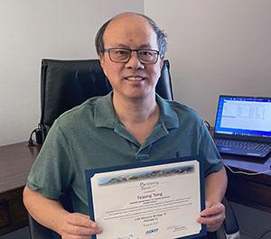 Taiping Tang Spirit Award Recipient