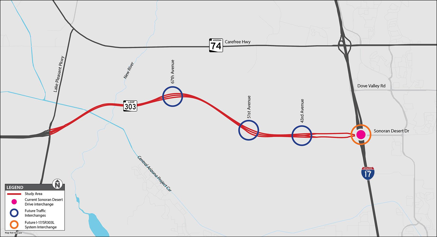 L303 Lake Pleasant TI Map