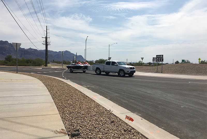 SR 88 roundabout