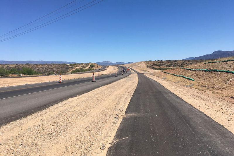 SR 260 Multi Use Path under construction