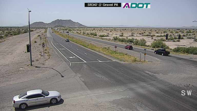 Traffic cameras monitor conditions at SR 347