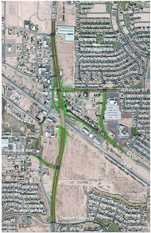 Aerial SR 347 Project Map