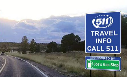 Businesses invited to sponsor ADOT 511 travel information signs