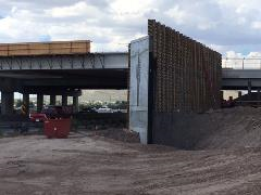 Construction of an interchange at Ajo Way and I-19 in Tucson